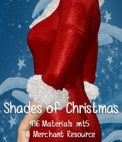 Shades of Christmas Poser Materials