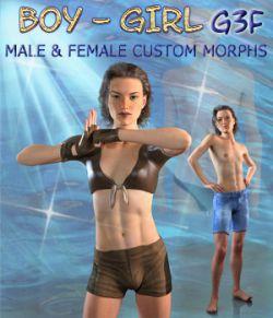 BOY-GIRL Genesis 3 Female