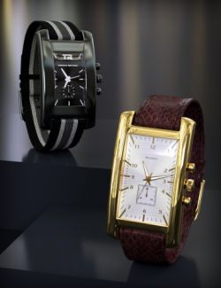 Varied Square Watches for Square Wristwatch