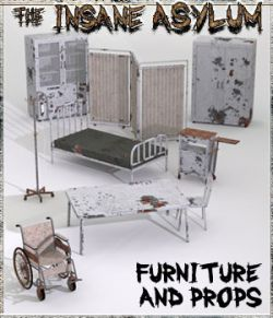 Insane Asylum 2: Furniture and Props Extended License