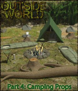 Outside World: Part4 - Camping Props Extended License