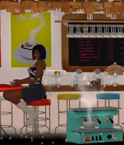 Coffee Bar for Poser