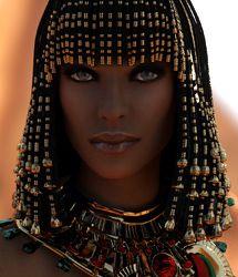 Bast Hair for Genesis 3 Female