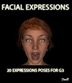 Facial expressions for G3F
