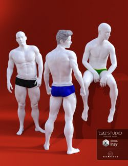 Photo Art Poses for Genesis 3 Male(s)
