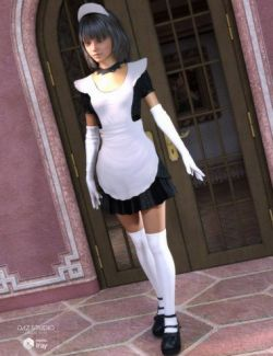 Goth Maid for Genesis 3 Female(s)
