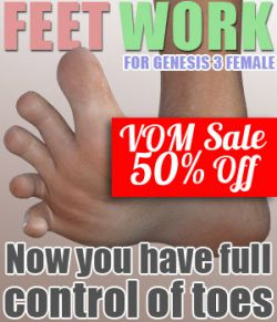 Feet Work for G3F