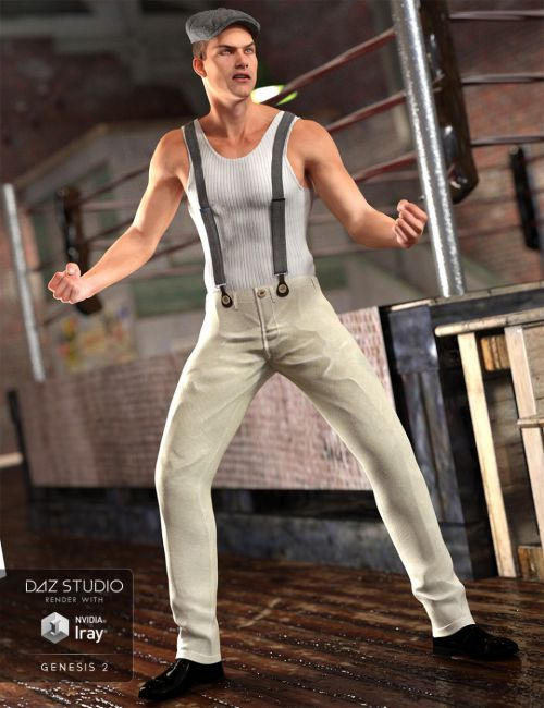 Vintage Boxing Manager Outfit for Genesis 2 Male(s)