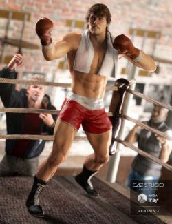 Vintage Boxing Outfit for Genesis 2 Male(s)