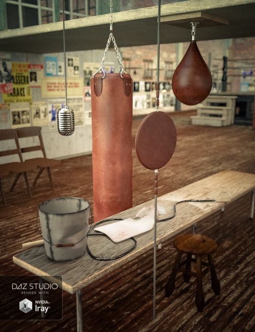 Vintage Boxing Accessories