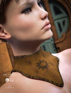 Fantasy Collar Set for Genesis 3 Female(s)