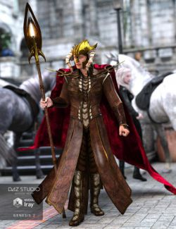 Rune Male Outfit for Genesis 2 Male(s)