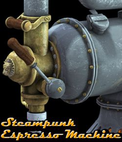 Steampunk Espresso Machine