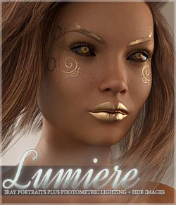 SV's Lumiere Iray Portrait Plus Lights