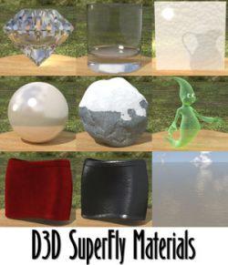 D3D SuperFly Materials