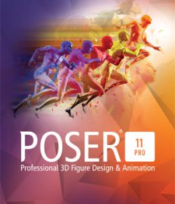 Poser Pro 11 Upgrade From Poser 10, 9, 8, 7, 6 or Poser Debut
