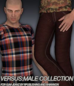VERSUS:Male Collection - G2M Jeanz plus FREE bonus t-shirt