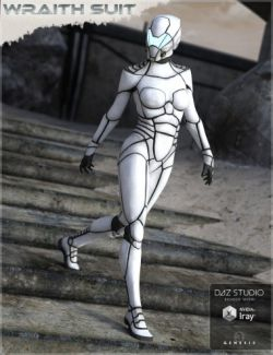 HFS Wraith Suit for Genesis 2 and 3 Female(s)