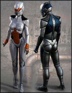 HFS Wraith Suit Textures