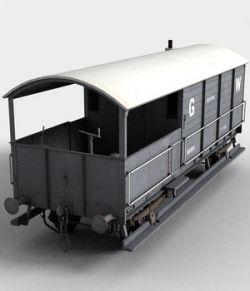 """GWR """"TOAD"""" Brake Van"""