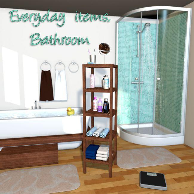 Everyday items, Bathroom