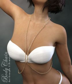 Body Chain for Genesis 3 Female