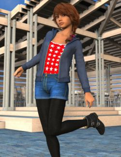 Mall Girl for Genesis 3 Female(s)