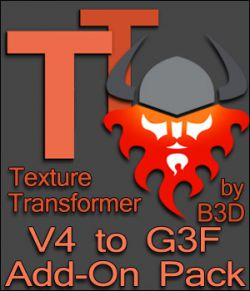 V4 to G3F Add-On pack for Texture Transformer