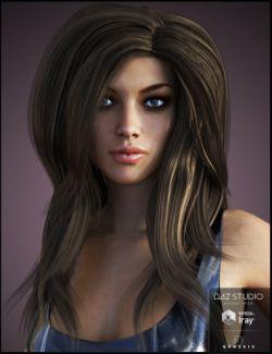 Bardot Hair for Genesis 3 Female(s)