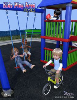 Kids Play Area Poses for Little Ones