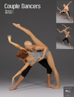 Couple Dancers Poses for Victoria 7 and Michael 7