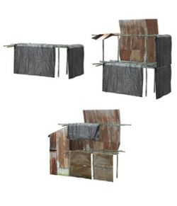 Shanty Town Buildings 1: Set 5 (for Poser)