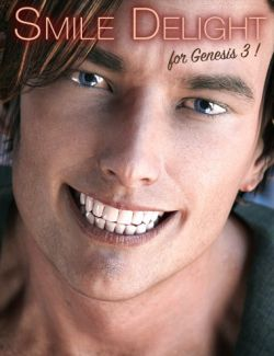 Smile Delight for Genesis 3 Male(s)
