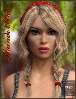 Shandi Hair for Genesis 3 Female(s)