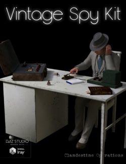 Vintage Spy Kit