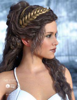 Odessa Hair for Genesis 3 Female(s)