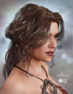 Galene Hair for Genesis 3 Female(s)