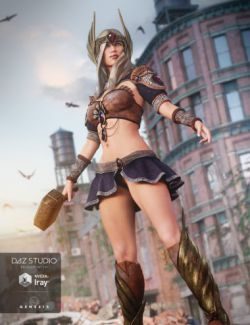 Tears of the Gods Outfit for Genesis 3 Female(s)