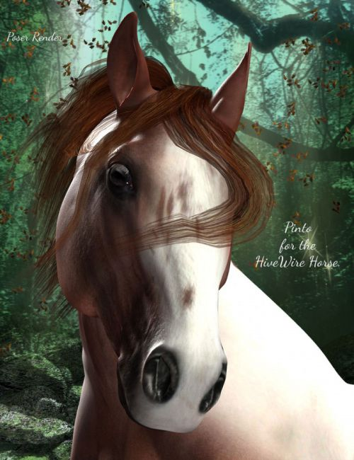 FL Texture Set for the HW Horse