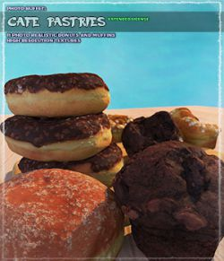 Photo Buffet: Cafe Pastries
