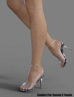 Sandals 2 for Genesis 3 Female(s)