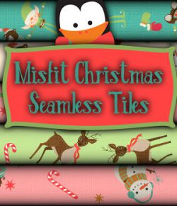 Misfit Christmas Seamless Tiles  A Merchant Resource