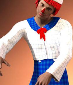 Raggedy Dan Outfit for G2M