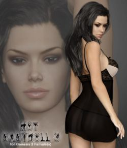 Hot Babydoll 3 for Genesis 3 Female(s)