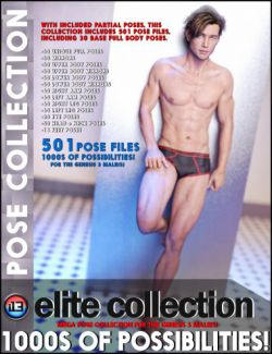 i13 Elite Collection Poses for the Genesis 3 Male(s)