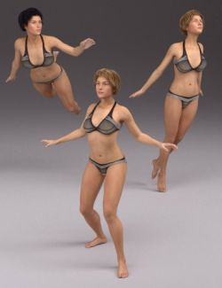 Supernatural Poses for Genesis 3 Female and Arabella 7