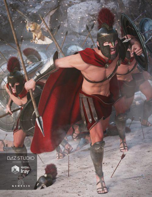 Spartan Warrior for Genesis 3 Male(s)