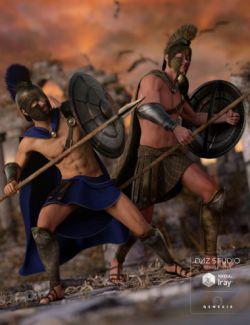 Spartan Warrior Textures