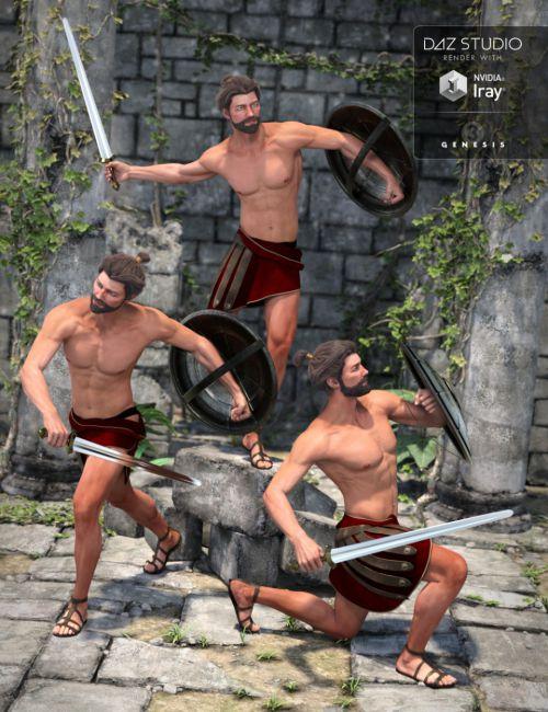 Capsces Gladiator Poses Leo 7
