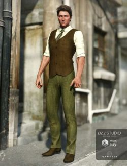 Sophisticate Outfit for Genesis 3 Male(s)